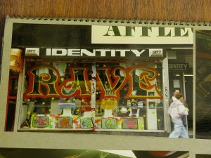 identity shop front in colour