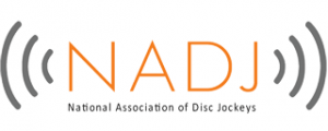 National association of disc jockeys logo