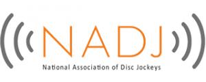 National association of disc jockeys logo