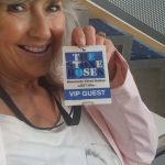 Rose with stone roses VIP pass