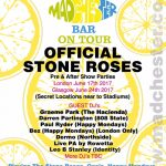 stone roses after show party flyer