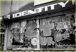 identity shop front