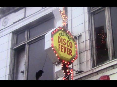 exciting disco fever sign