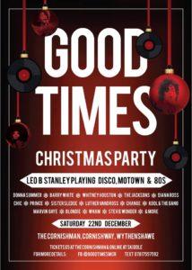 Good Times xmas party